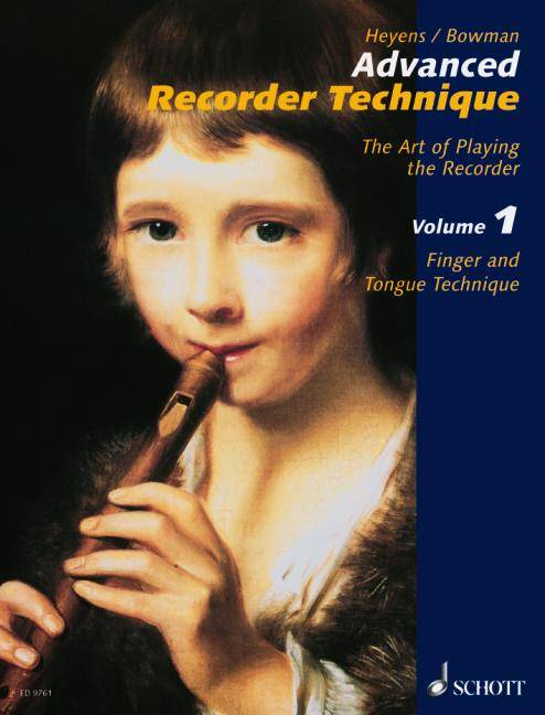 Advanced Recorder Technique By Heyens, Gudrun
